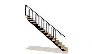 schody metalowe puszka projekt